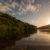Sundown mirroring in the lake