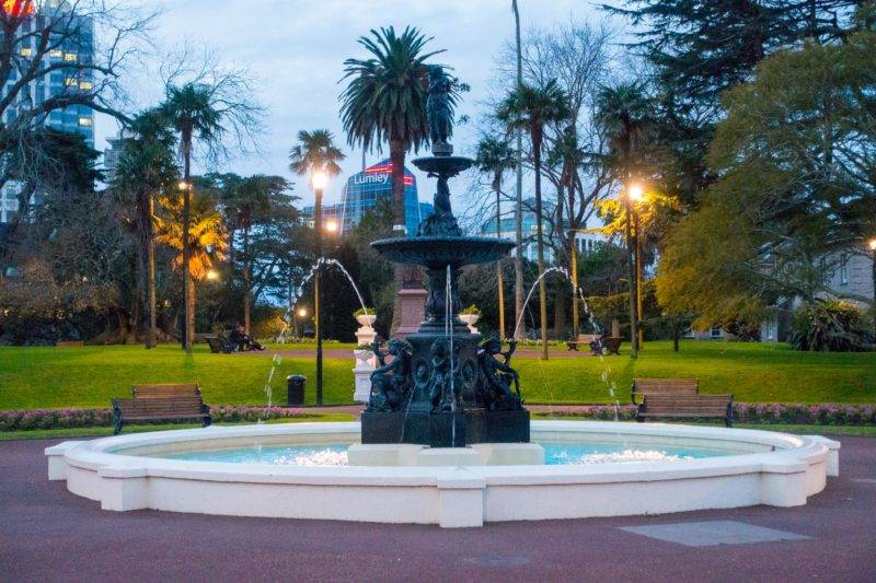 Albert Park fountain