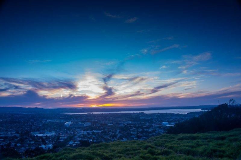 Sundown at Mt. Eden