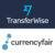 Transferwise & Currencyfair Logo