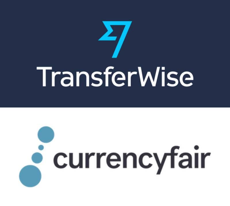 Transferwise & Currencyfair Logo