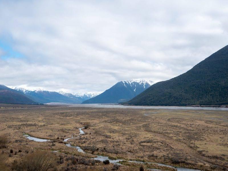 Arthurs Pass and it's surrounding mountains
