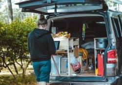 Campervan with kitchen