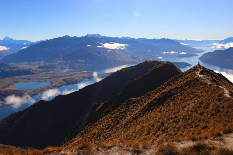 View from the Roys Peak New Zealand