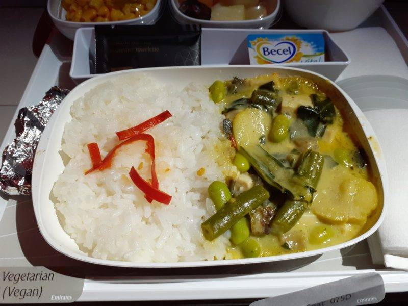 Vegetarian Meal by Emirates