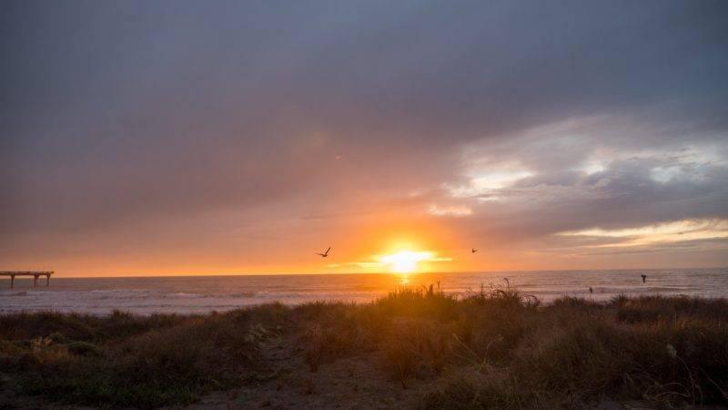 Sunrise New Brighton Beach