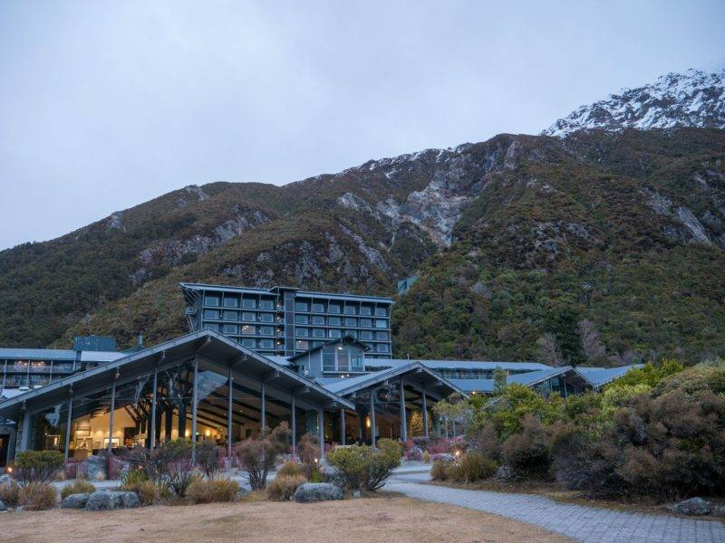Hermitage Hotel Mount Cook Village