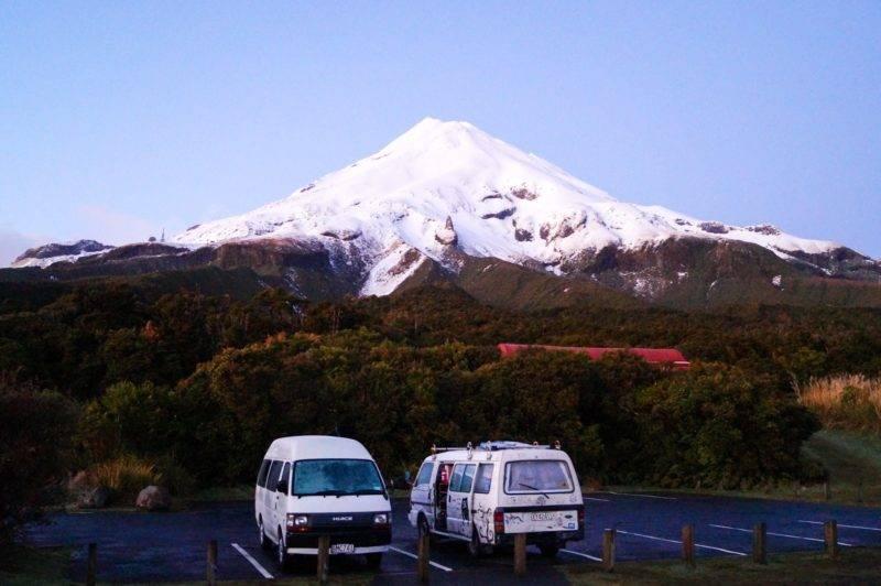 Mount Egmont in the morning