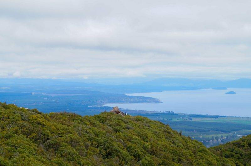 The view from Mount Tauhara