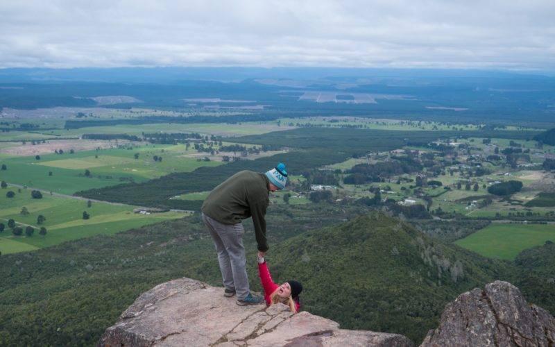 Dangerous looking photos on Mount Tauhara