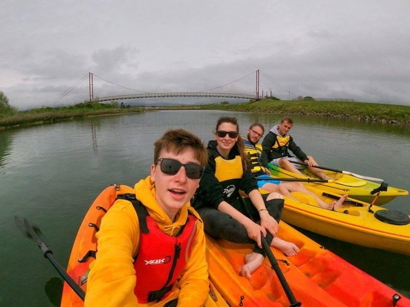 Kayaking Otara River