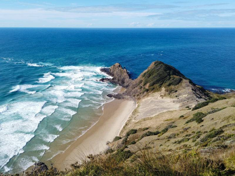 Cape Reinga and the meeting of the two seas