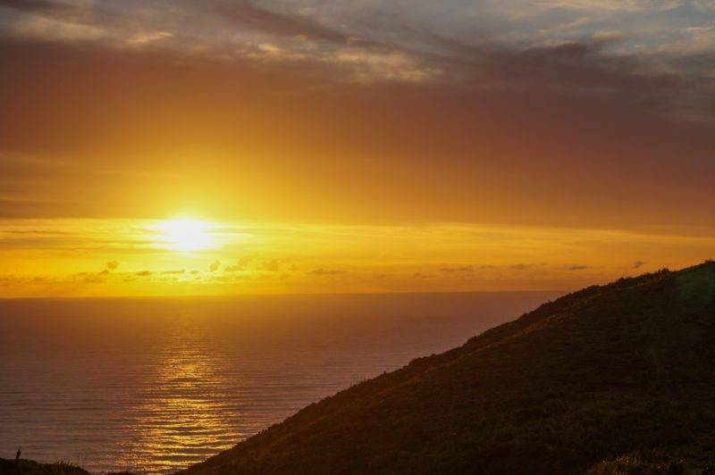 Sundown at Cape Reinga