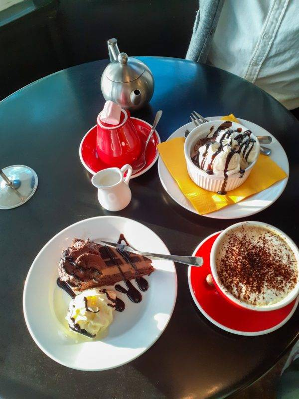 Delicious food at the Chocolate Boutique