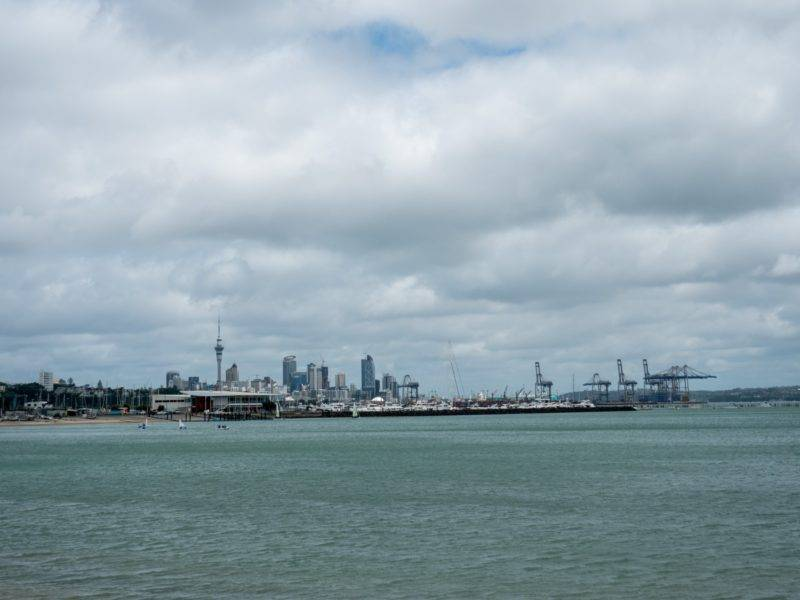 View on the Auckland Skyline