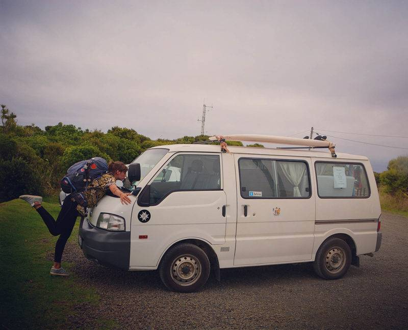 Vicky and her Van