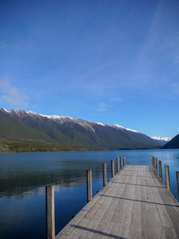 Lake Rotoroa based in the Nelson Lakes National Park