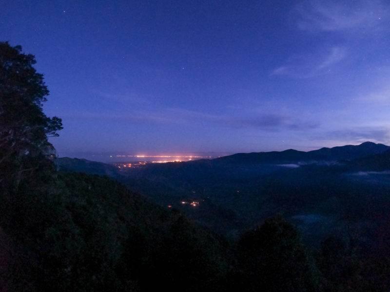 Look from Taka Hill to Motueka