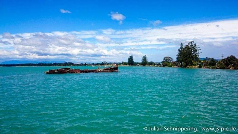 The shipwreck of the Jamie Seddon