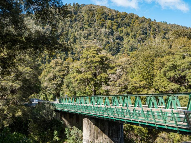 Pelorus Bridge New Zealand