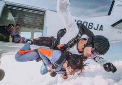 Tandem skydive in New Zealand