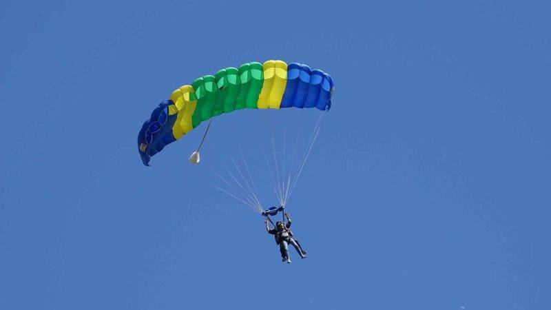 Enjoy a skydive in New Zealand