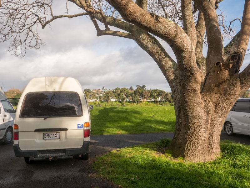 Kowhai Park Car Park Freedom Camping
